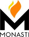 monasti logo biokominki parapety blaty kuchenne łazienkowe posadzki schody granit marmur